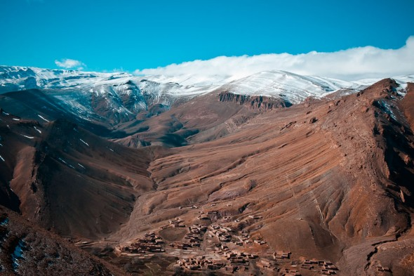 High Atlas village landscape photography tuition