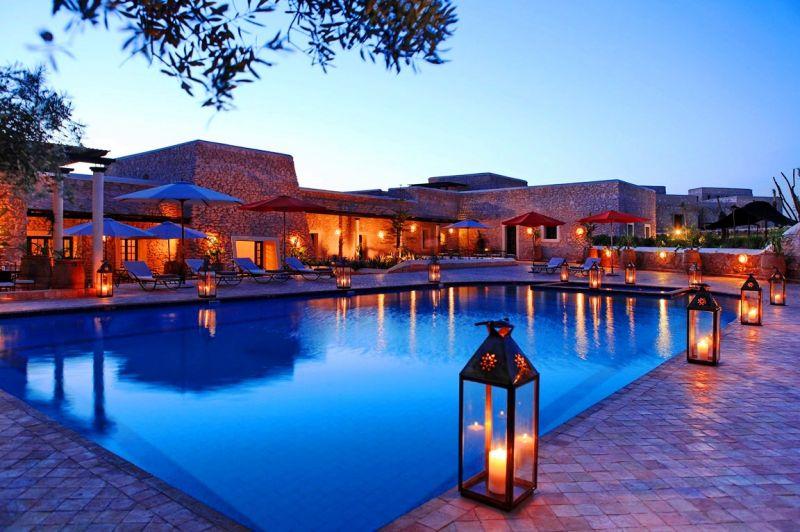 yoga-holidays-Morocco-with-pool